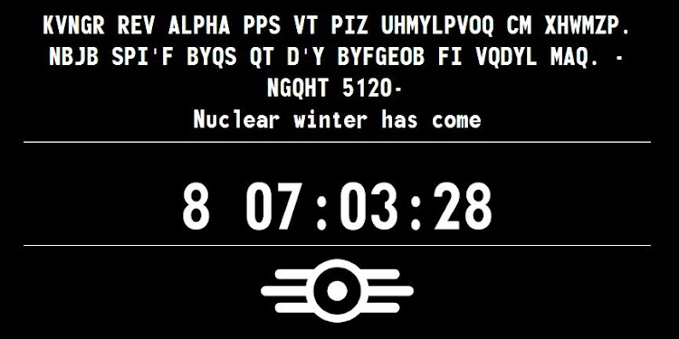 "The Survivor 2299 teaser site gets updated as ""Nuclear winter has come"""