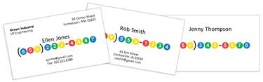 Google number cards