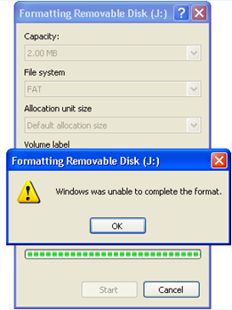 how to completely format usb drive