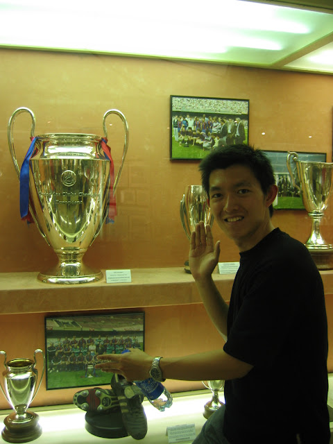 Barca champions cups