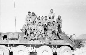Afganistan 1979-1989,kompania BTR