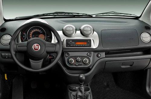 Interior of Fiat Uno