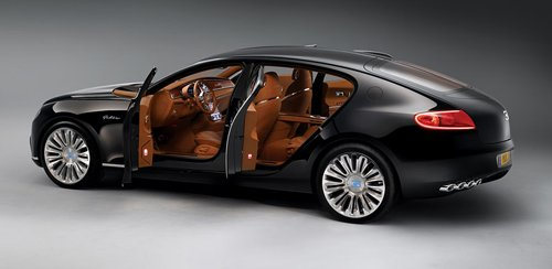 Luxury sedan Bugatti