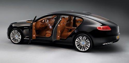 Luxury sedan Bugatti