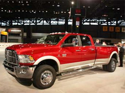 Chrysler has presented lorries of brand Ram
