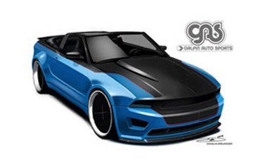 Ford will present in Las Vegas 8 tuning version of Mustang