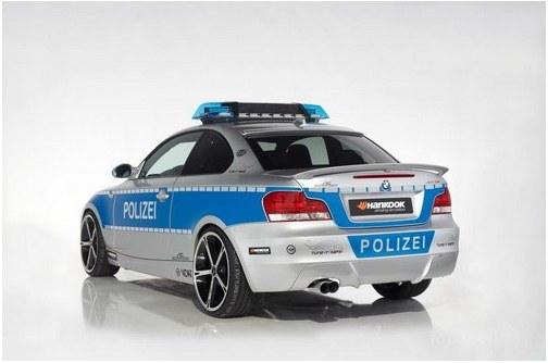 Police car BMW