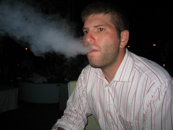 Breathing Fire from Shisha