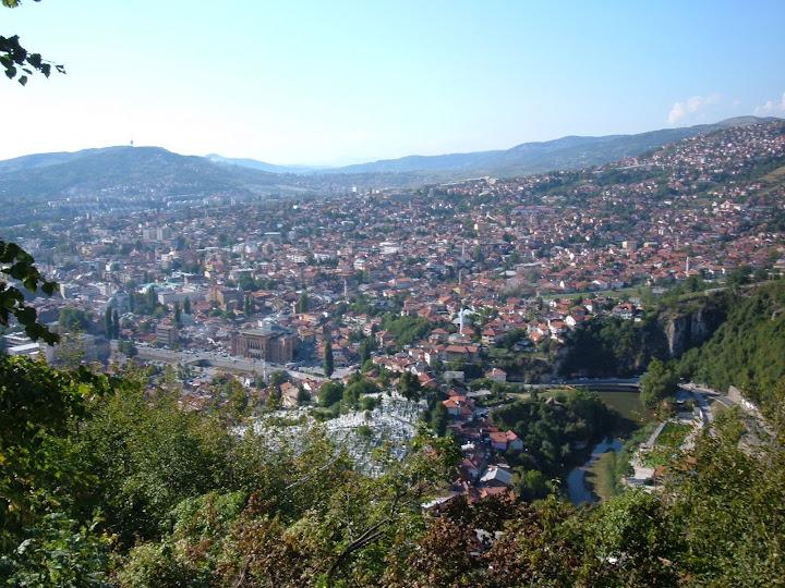 Sarajevo from Cafe Biban