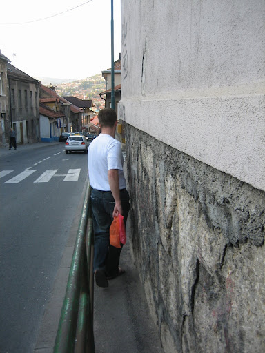 Narrow Sidewalk