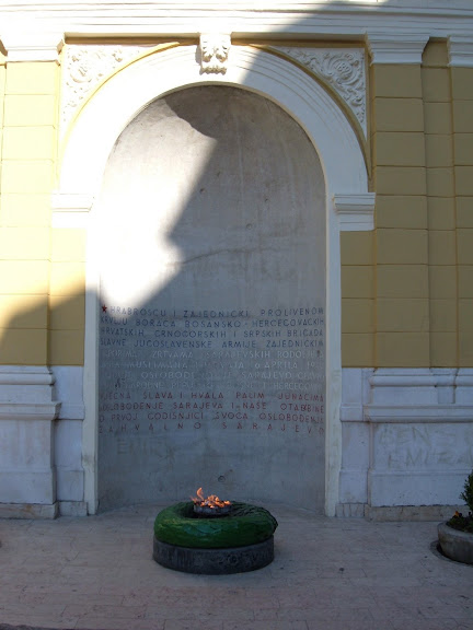 Sarajevos Tomb of the Unknown Soldier