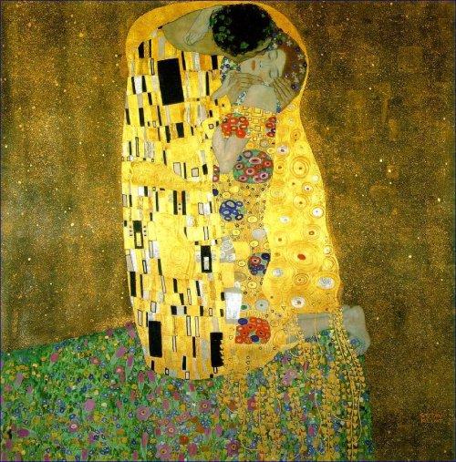 Gustav Klimt - Le baiser