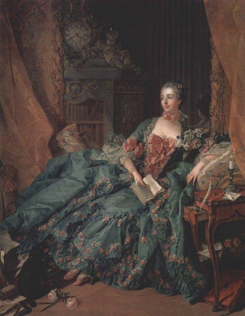 François Boucher - Madame de Pompadour, 1756