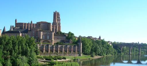 Cathédrale et Palais de la Berbie - Berges du Tarn