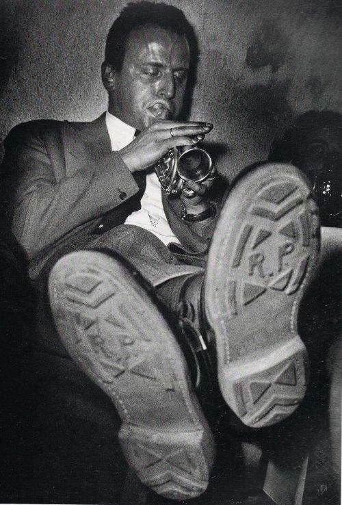 Boris Vian à Toulouse - Photo de Jean Dieuzaide, 1948