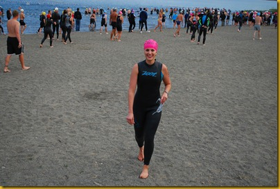 Lake Samammish Triathlon Swim