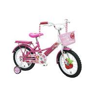 Sepeda Anak WIMCYCLE STRAWBERRY SHORTCAKE 16 Inci