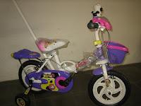 1 Sepeda Anak JEMBOLY Tongkat-Musik 12 Inci
