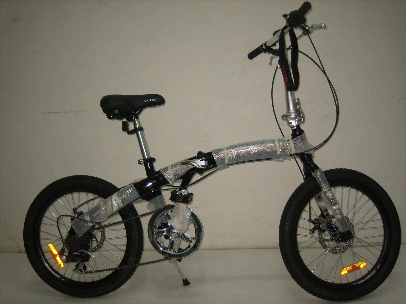 BINTANG HARAPAN: Sepeda Lipat UNITED DOT Disc Brake Alloy