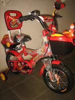 Sepeda Anak PLIKO SANDARAN 12 Inci