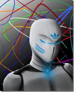 Robots love Adidas