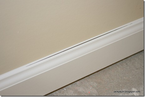 Caulk Baseboard