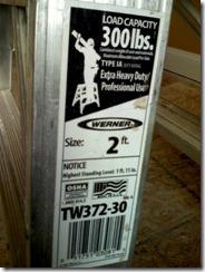 Werner TW372-30