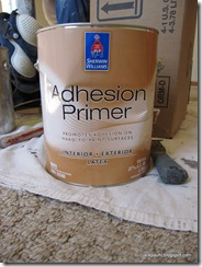 Sherwin Williams Adhesion Primer