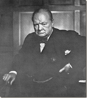 churchill by karsh