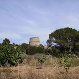 Ein alter Wachturm aus Zeiten, in denen es Piraten in der Gegend gab