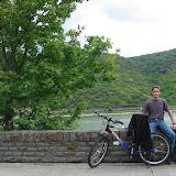 Das Bild zeigt mich vor dem Rhein (Selbstauslöser)