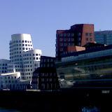 Blick auf den Medien-Hafen