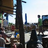 Pause in einer Strandbar am Pier von Den Haag