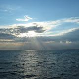 Tolles Lichtspiel zwischen den Wolken