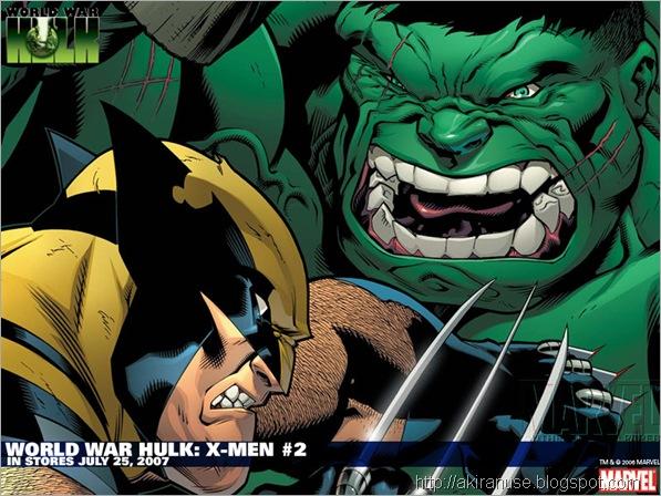 Lobezno vs Hulk
