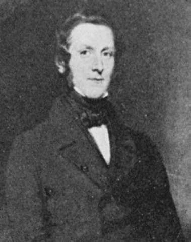 James Andrew Broun Ramsay, the Marquis of Dalhousie. The British statesman and governor-general of India from 1847 to 1856, in an engraving after a painting (ca. 1847)