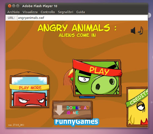 Angry Animals Offline su Ubuntu
