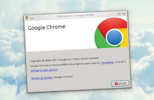 Google Chrome su Ubuntu 11.04 Natty