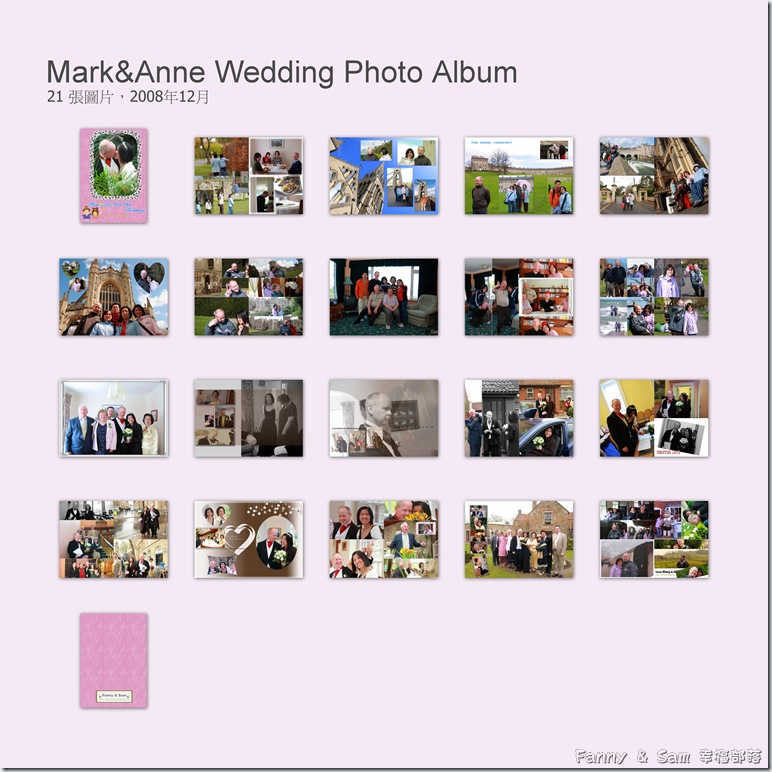 Mark&Anne Wedding Photo Album