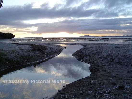 Sunset-From-Omana-Beach-Maraetai-Auckland