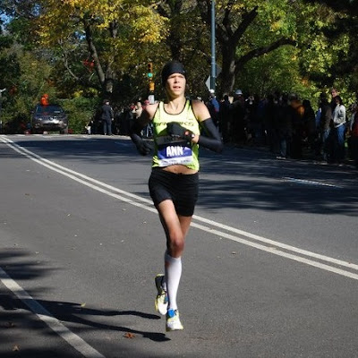 Ann Alyanak in the NYC Marathon
