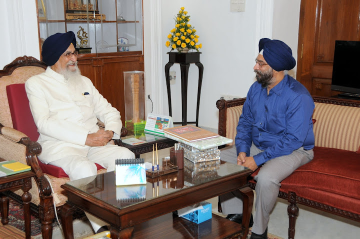 Meeting and greeting Tamil Nadu Governor Surjit Singh Barnala on his birthday was the high point of the recent visit to Chennai.