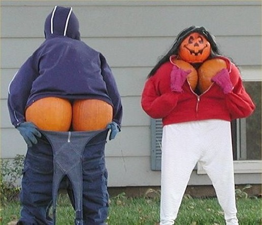 funny-pumkin-display