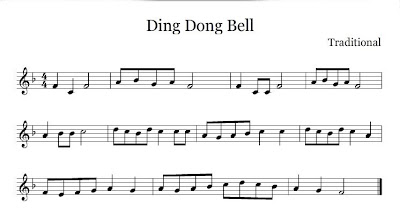 Ding Dong Bell nursery rhyme