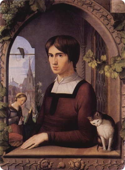 Porträt des Malers Franz Pforr