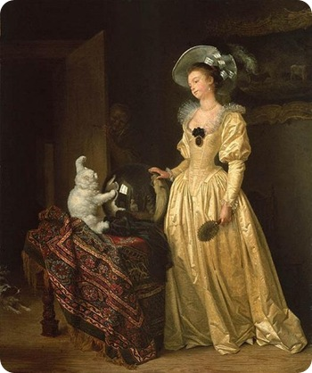 Le Chat Angora Jean-Honoré Fragonard