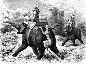 tiger hunting 1830