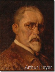 Arthur Heyer self portrait