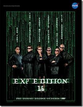 """Expedição XVI, """"Matrix"""" (Foto via G1)"""