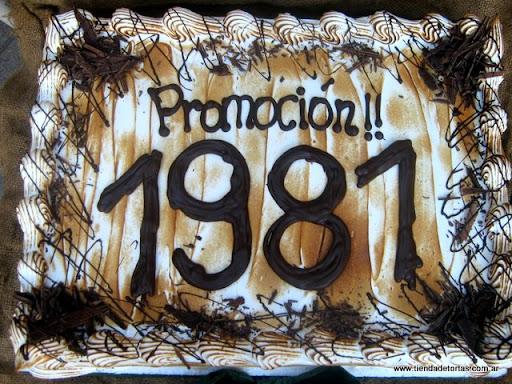 Egresados Colegio Nacional Jos   Manuel Estrada 1981
